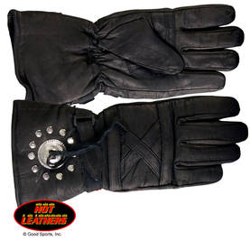 Ajohanska-Hot Leathers-Gauntlet Glove-AH40 - Ajovarusteet - AH40