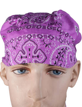Headwrap, lila - Headwrapit - HW150 - 1