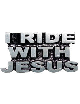 Pinssi, Hot Leathers, I Ride With Jesus - Pinssit - PNS11 - 1