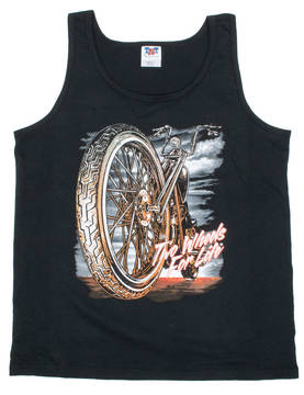 Tank top-Hot Leathers-Big Wheel - Hihattomat paidat - TP1001 - 1