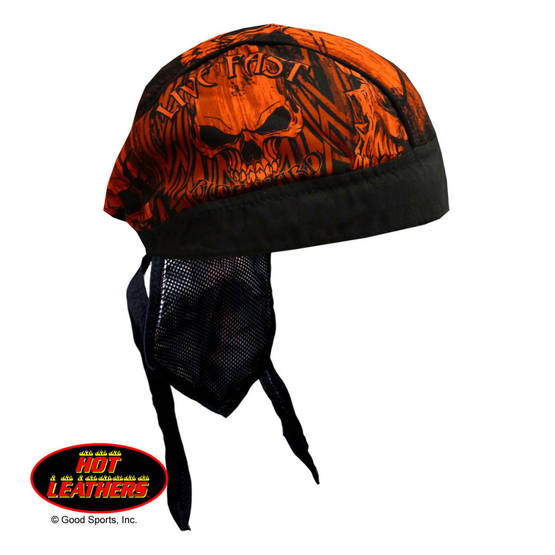 Headwrap,Hot Leathers, Over the Top - Headwrapit - HW161 - 1