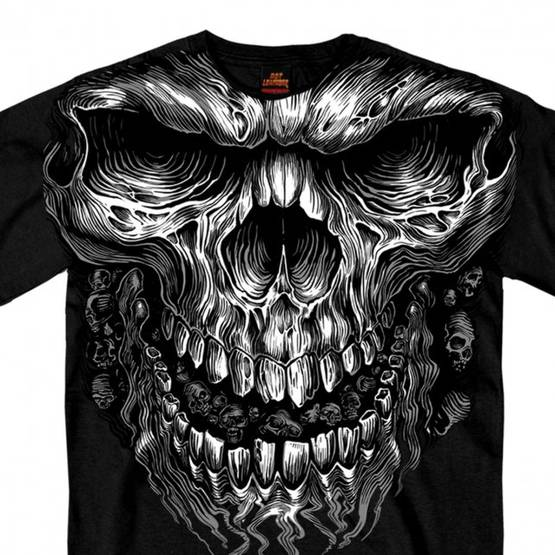 T-Paita, Hot Leathers, Shredder Skull - T-paidat - TP1142 - 1
