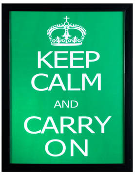 Sisustustaulu-Keep Calm and Carry on-PRT325 - Taulut - PRT325 - 1
