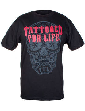 T-Paita, Hot Leathers, Day Of Dead - T-paidat - TP975 - 1