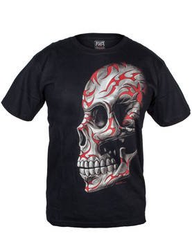 Red Tribal skull - T-paidat - TP345 - 1