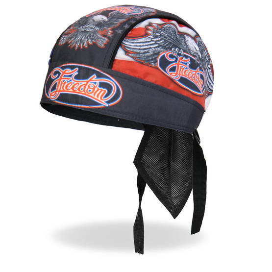 Headwrap,Hot Leathers, Freedom Eagle - Headwrapit - HW165 - 1