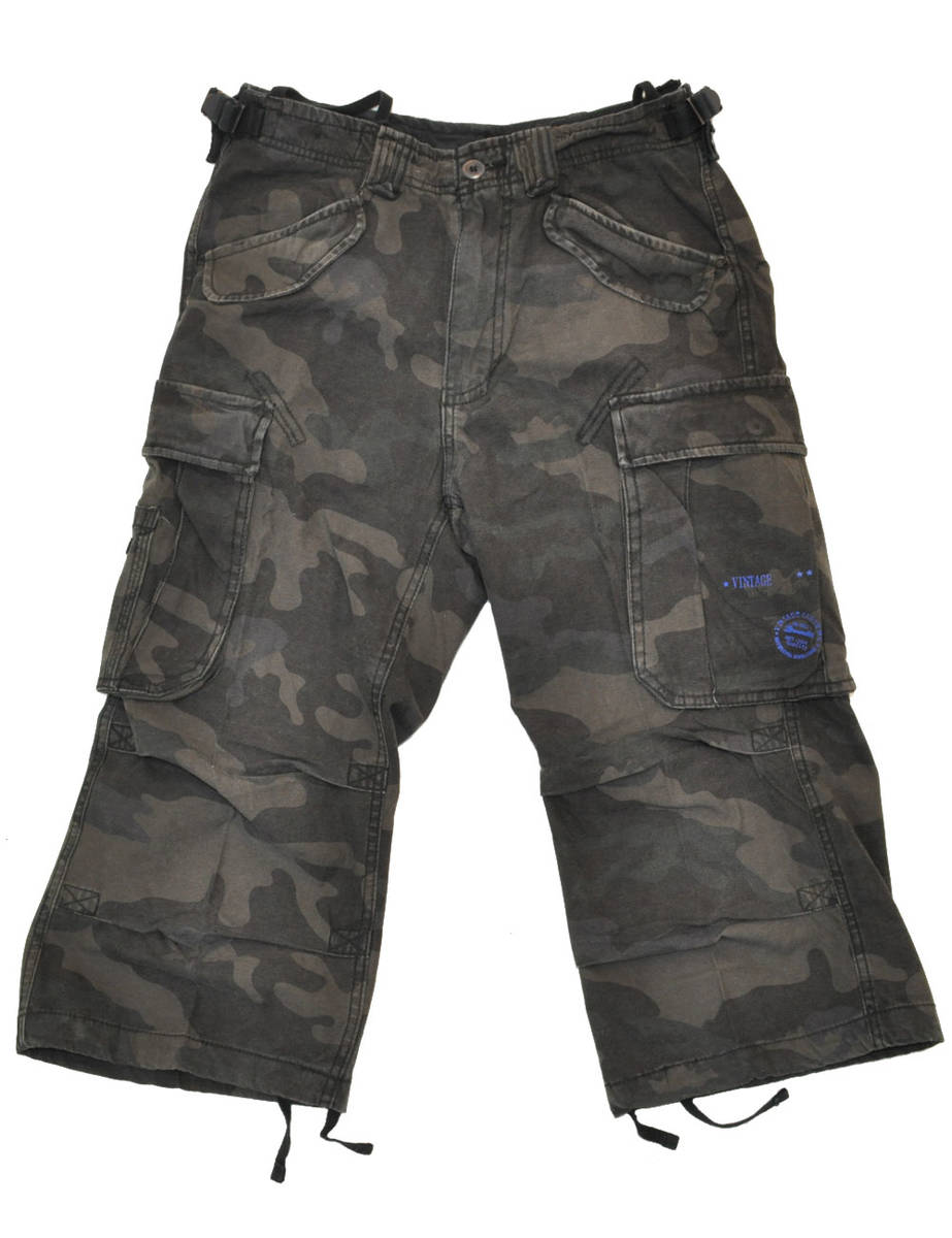Shortsit, Industry Vintage 3/4, darkcamo - Shortsit - HO286 - 1