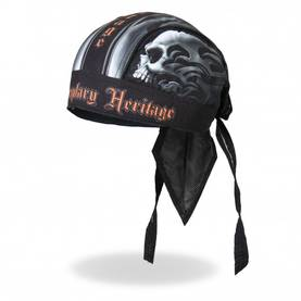 Headwrap,Hot Leathers, Skull Face - Headwrapit - HW177 - 1