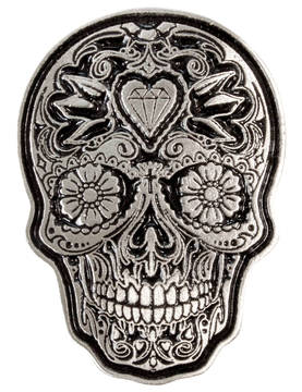 Pinssi-Hot Leathers-Sugar Skull - Pinssit - PNS39 - 1