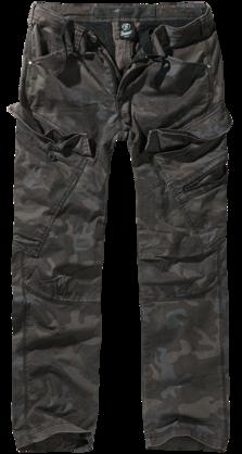 Reisitaskuhousut Brandit dark camo slim - Reisitaskuhousut - HO539 - 2 7ab07f0998
